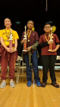 Congratulations to our Spelling Bee winners! See our photo album for more pictures.
