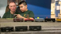 Goudy Model Railroad Club students in the NEWS!!!